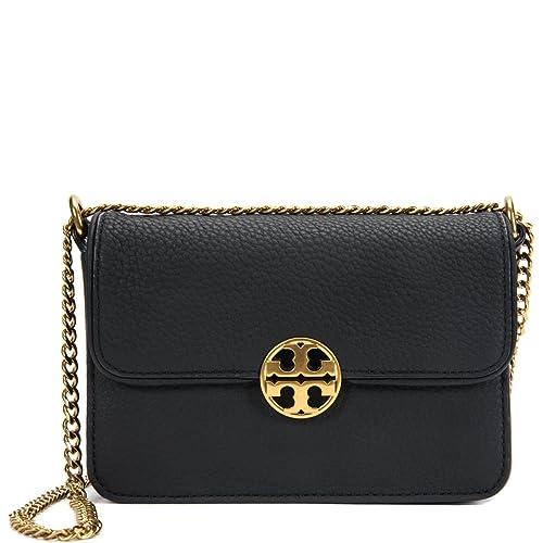 105f0e3a16f Tory Burch Chelsea Mini Cross-Body Bag 41932-001 Black  Amazon.ca  Shoes    Handbags