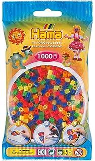 volltonmix B/ügelperlen Hama 205-67 6000 St/ück ca
