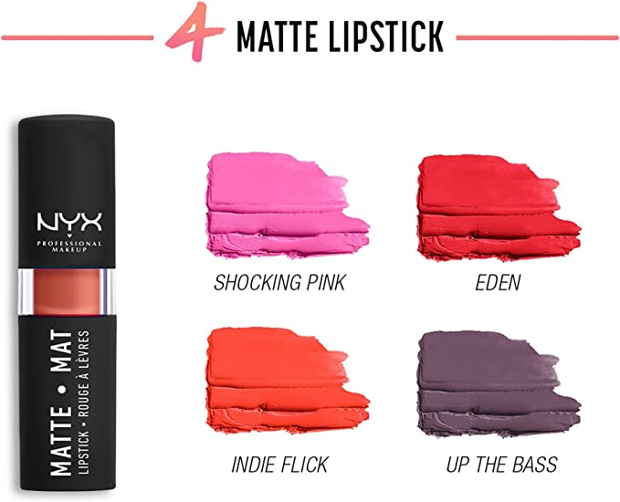 Calendario de Adviento NYX «Lippie Countdowm», maquillaje: Amazon.es: Belleza