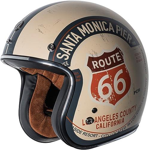 TORC T5020PCH21 Route 66 3/4 Helmet