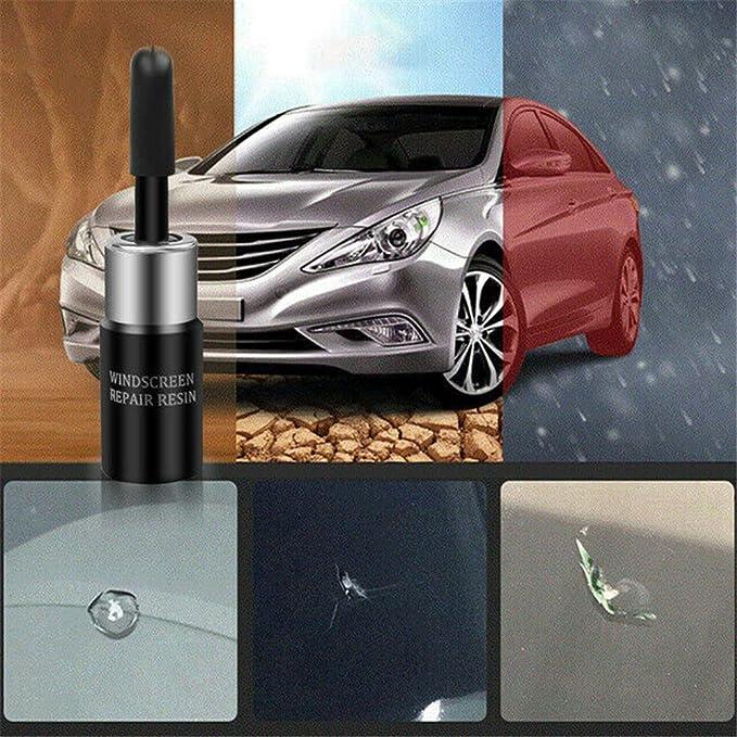 2set Automotive Glass Nano Repair Fluid Car Window Glass Crack Chip Repair Tool