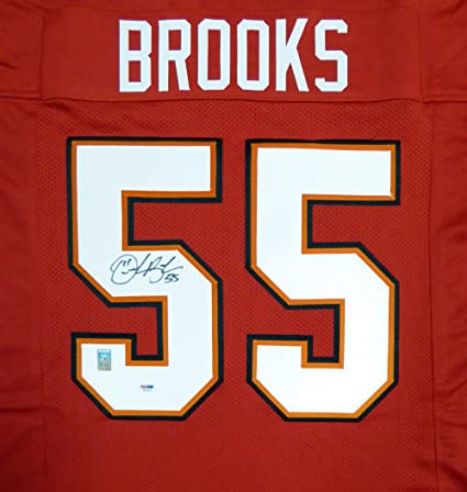 e3babf63a Image Unavailable. Image not available for. Color  Tampa Bay Buccaneers  Derrick Brooks Autographed Red Jersey ...