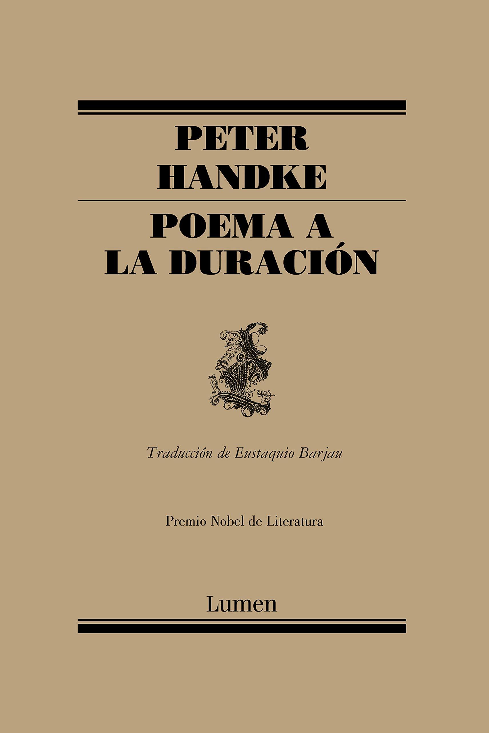 Poema a la duración (Poesía): Amazon.es: Handke, Peter: Libros
