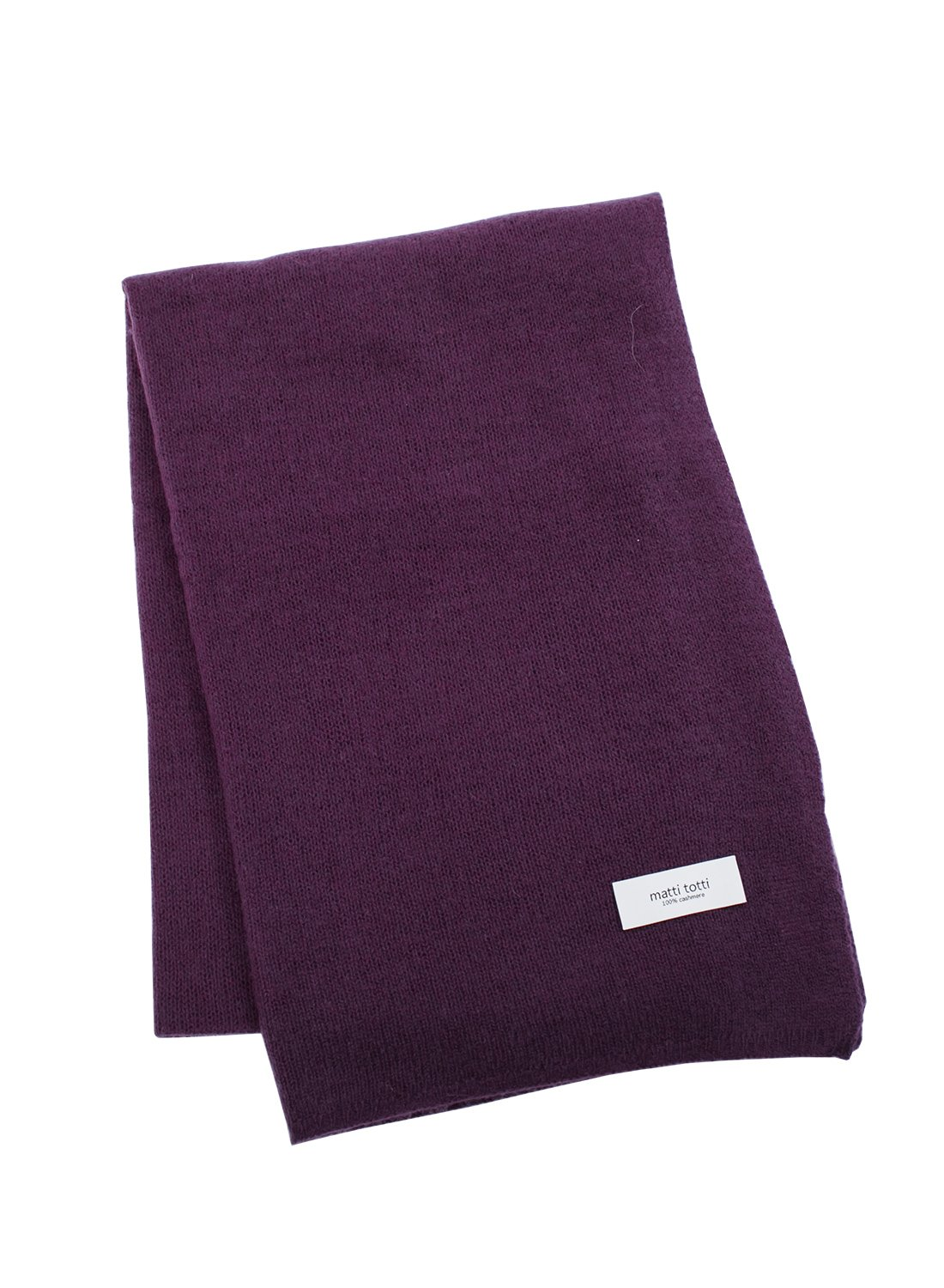 Purple 100% Cashmere Knit Shawl Men Gift Scarves Wrap Blanket F0524B1-5