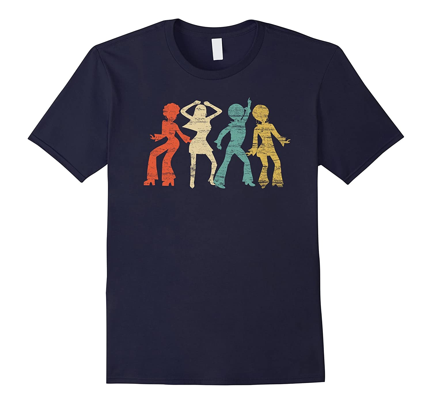 Classic Vintage Style Disco T-Shirt-BN