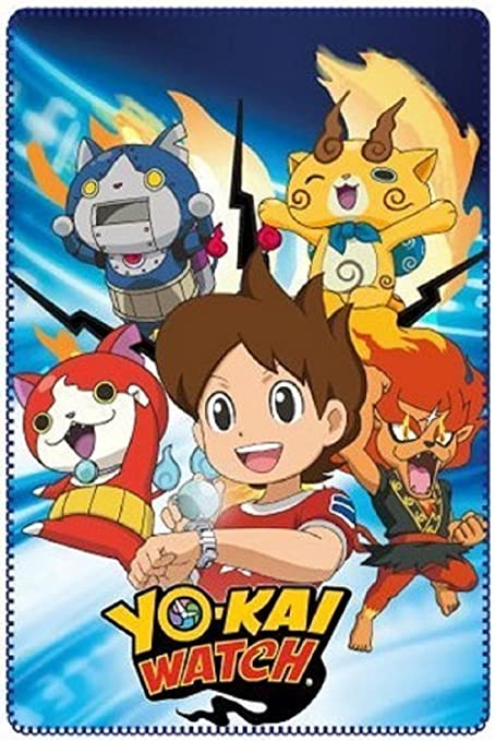 Aucune Manta Polar YO-Kai Watch 100 X150 CM: Amazon.es: Hogar