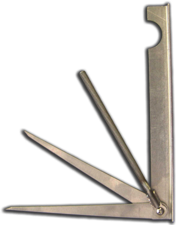 オールインワン 精密ホースシュー測定ツール - アメリカ製。 B07H6B22LY