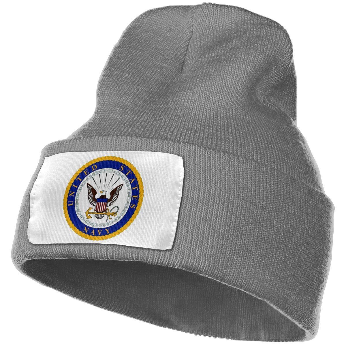 FORDSAN CP US Navy Department Seal Mens Beanie Cap Skull Cap Winter Warm Knitting Hats.
