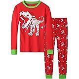 Pijama de Navidad para niños y niñas, bebé 18 M-12 para niños pequeños 100% algodón