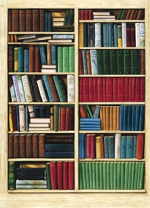 2 opinioni per 1art1 40581- Poster da parati, 4 pezzi, 254 x 183 cm, immagine libreria