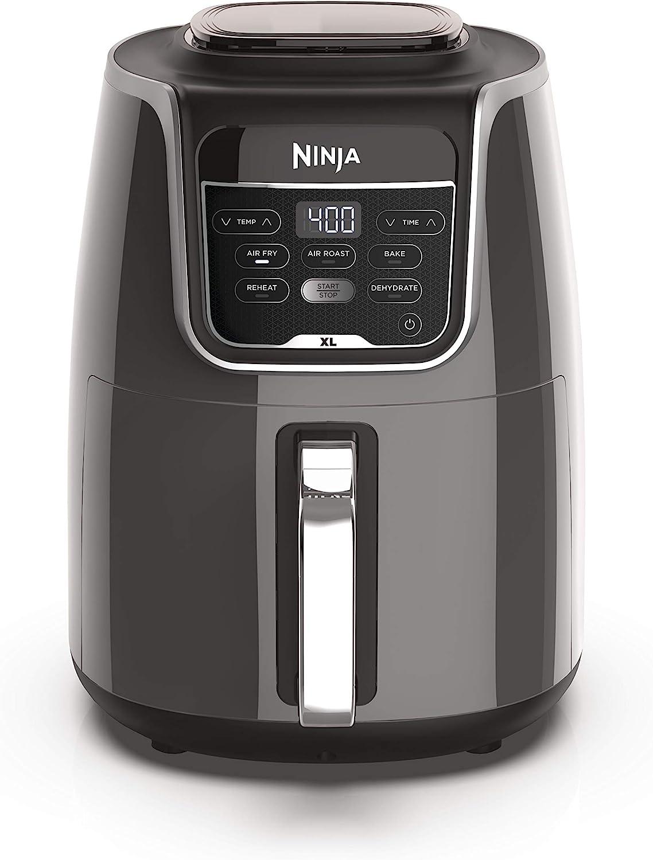 Ninja AF150AMZ Air Fryer XL that Air Fry's, Air Roast's , Bakes, Reheats, Dehydrates with 5.5 Quart Capacity, and a high gloss finish