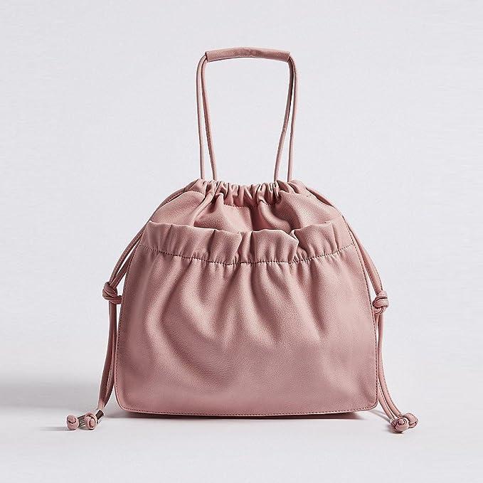 3f554653cca635 EX M&S Womens Designer Handbag Faux Leather Tote Shoulder Bag ...