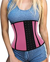 Exercise Waist Training Cincher, Ursexyly Women Corset Hot Slimming Hourglass Shapewear Look 1, 2, Even 3 Sizes Thinner