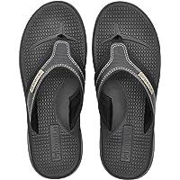 KuaiLu Chanclas para Hombre Tela Verano Playa Piscina Comodas Sandalias Goma Planas Caminar Adulto Moda Zapatos