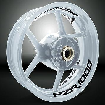 Glänzend Schwarz Motorrad Inner Rim Tape Decal Aufkleber Für