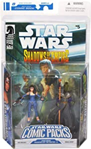 Star Wars Clone Wars Action Figure Comic 2-Pack Dark Horse: Shadows of the Empire #5 Leia (Blue Gown) and Prince