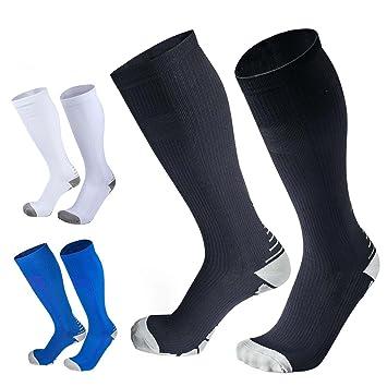 Underwear & Sleepwears Mens Professional Compression Socks Protect Leg Unisex Women Man Socks Breathable Anti-fatigue Boost Blood Circulation