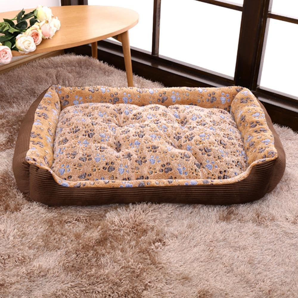 A Small A Small Weiwei Large Kennel Cat Litter pet Supplies Autumn and Winter Warm pet nest Dog mat