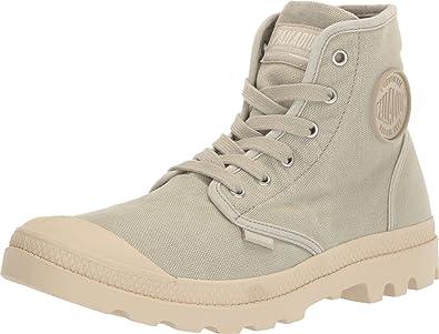 Palladium Pampa Hi Womens Black Canvas Ankle Boots Size UK 3-8