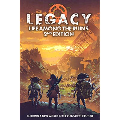 Legacy Life Among The Ruins 2nd Ed. Postapocalyptic RPG Hardback: Modiphius: Toys & Games