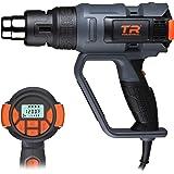 TR Industrial 1700W Digital Heat Gun Kit, Digital Controls with Memory Settings, Large LCD Display