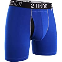 "2UNDR Men's Swing Shift 6"" Boxer Brief Underwear Limited Edition Colors"