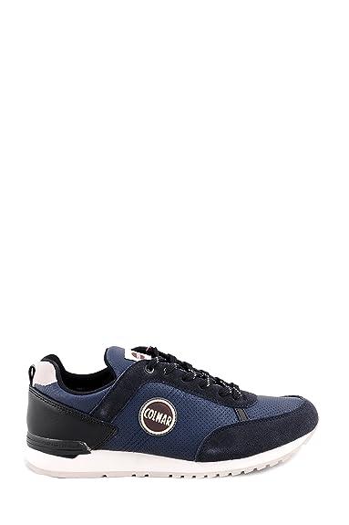 Sneakers Scarpa Uomo Colmar Travis Drill 009 BLU Navy  Amazon.fr ... 93905f3f169