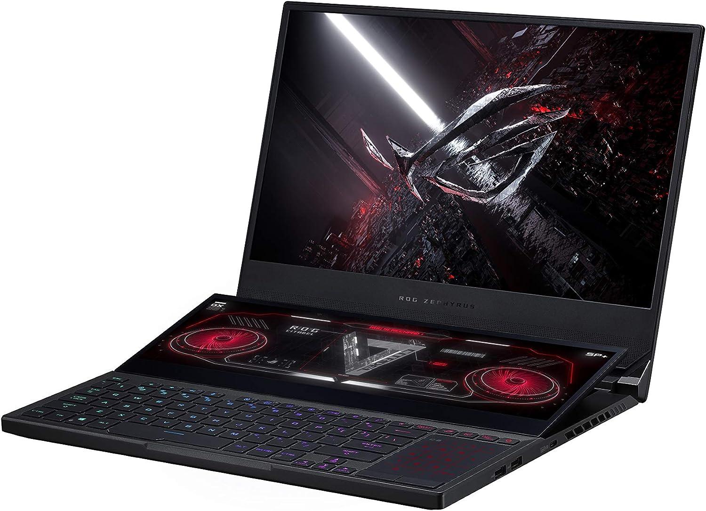 "ASUS ROG Zephyrus Duo SE 15 Gaming Laptop, 15.6"" 300Hz IPS Type FHD Display, NVIDIA GeForce RTX 3060, AMD Ryzen 7 5800H, 16GB DDR4, 1TB PCIe SSD, Per-Key RGB Keyboard, Windows 10 Home, GX551QM-ES76"