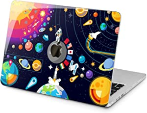 Lex Altern Hard Case for Apple MacBook Pro 15 Air 13 inch Mac Retina 12 11 2020 2019 2018 2017 2016 Planets Solar Laptop Science System Women Print Sun Touch Bar Space Cute Protective NASA Shell