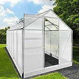 Inkl Home Deluxe verschiedene Gr/ö/ßen komplettem Zubeh/ör Ma/ße: 557 x 303 x 226//278 cm Terrassen/überdachung wei/ß