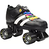 Riedell RW Volt Rainbow Skates - Riedell RW Volt Speed Skates - Volt Rainbow Skate