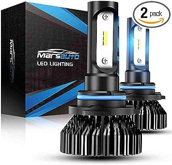 9005 HB3 6000K White 8000LM CREE LED Headlight Bulbs Kit High Low Beam Headlamp