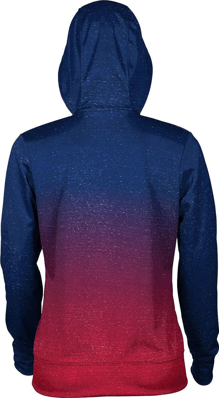 School Spirit Sweatshirt ProSphere Colorado State University Pueblo Girls Pullover Hoodie Ombre