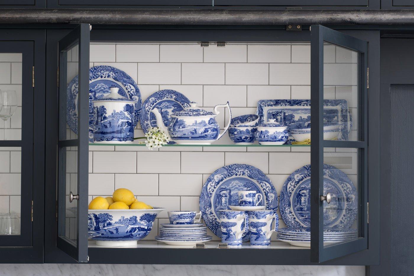 Spode Blue Italian Dinner Plate, Set of 4 by Spode (Image #5)