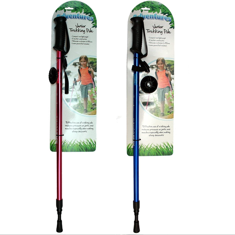 Green//Silver Highlander Arran Walking Pole