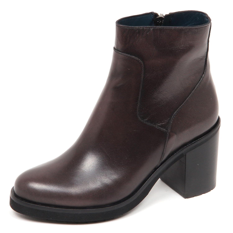 LE BLE E1160 Tronchetto Grau Damenschuhe Brush Grau Tronchetto Schuhe Boot Woman Grigio Scuro efab11
