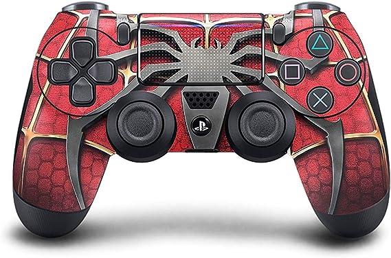 DreamController Nueva PS4 Doble Choque sin Hilos del Juego Pro Consola con una empuñadura Suave del Mando a Distancia y Exclusiva versión Personalizada de la Piel (Spiderman) PS4-araña: Amazon.es: Juguetes y juegos
