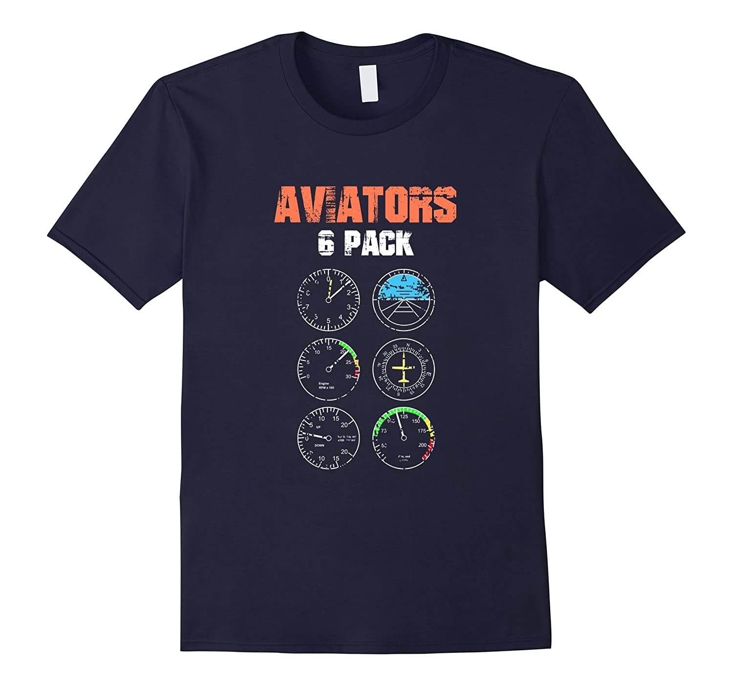 Aviators 6 Pack with Instruments T-Shirt-TH