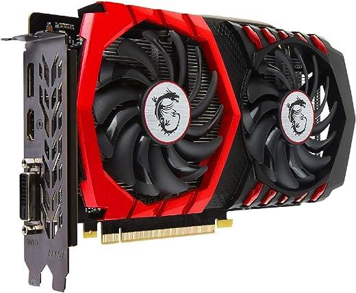 MSI GeForce GTX 1050 Ti GAMING X 4G GDDR5 - 4GB GDDR5 (128-bit)
