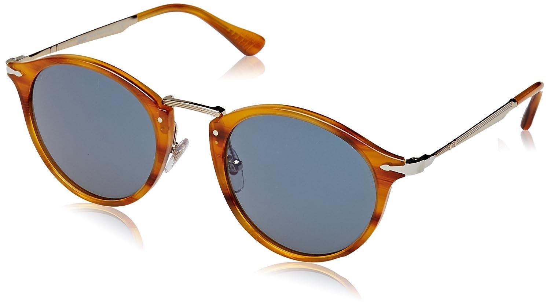 b61e118a8a Persol Men s Calligrapher PO3166S-960 56-51 Brown Clubmaster Sunglasses   Persol  Amazon.ca  Luggage   Bags