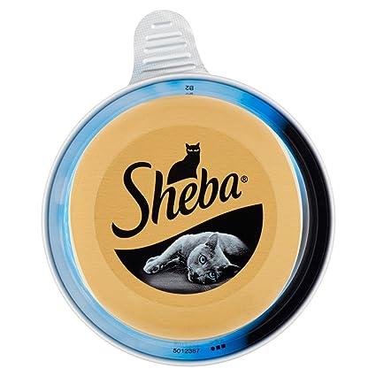 Sheba, Comida para Gatos, trancetti de Tonno al Natural – 80 g