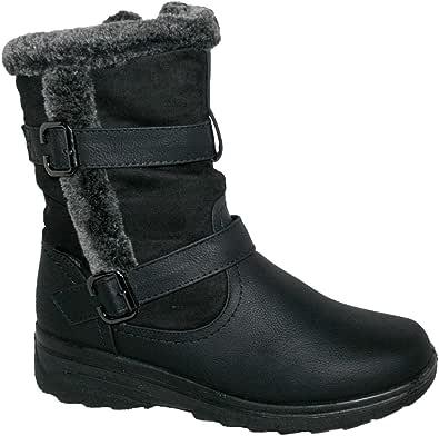Cojín Walk Thermo-Tex para Mujer, Ajuste cómodo, Botas de Invierno - CW81 marrón, Color, Talla 38 EU