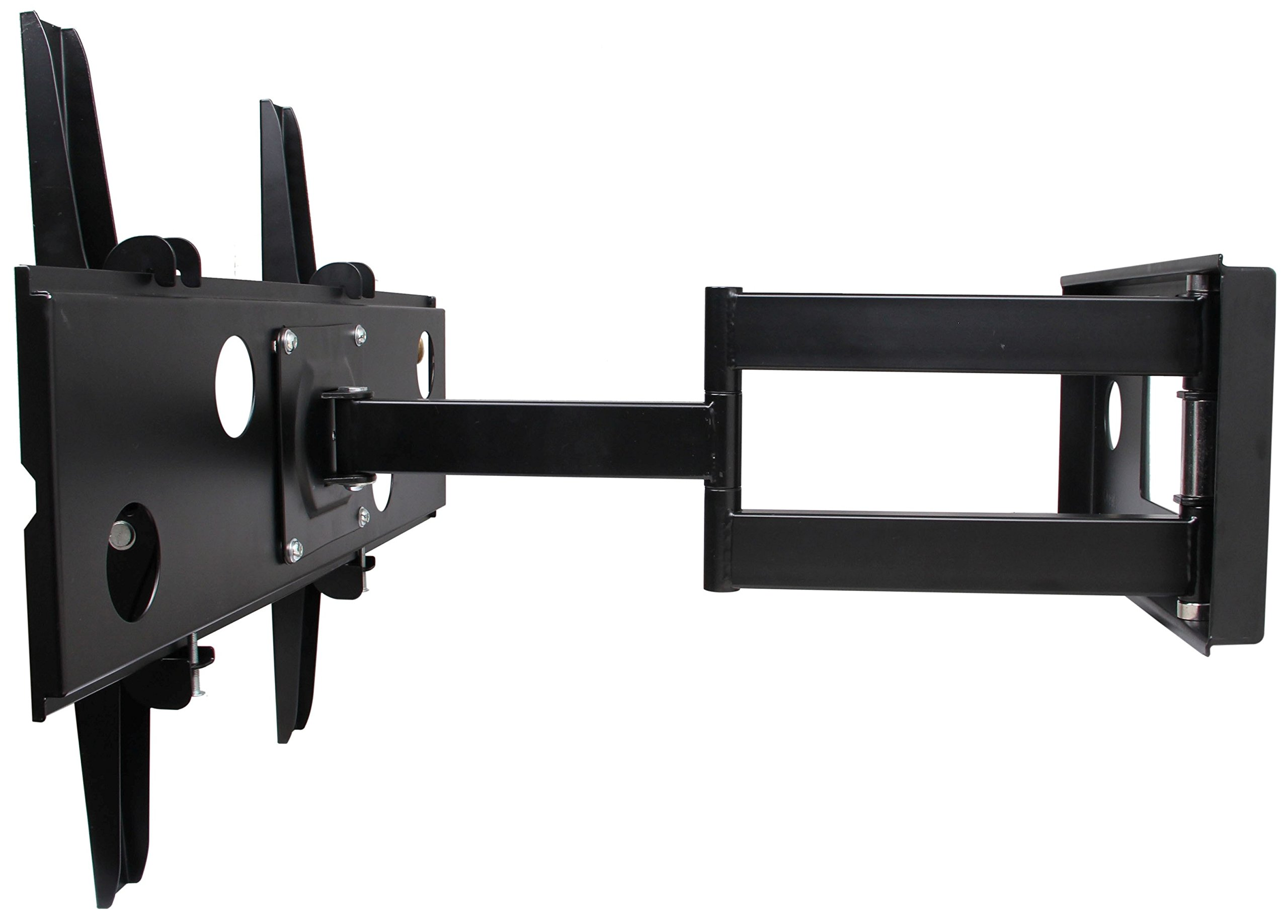 Husky Mounts Full Motion Heavy-Duty Corner Friendly TV Wall Mount Bracket Fits Most 32-60 Inch and Larger LED LCD Flat Screen
