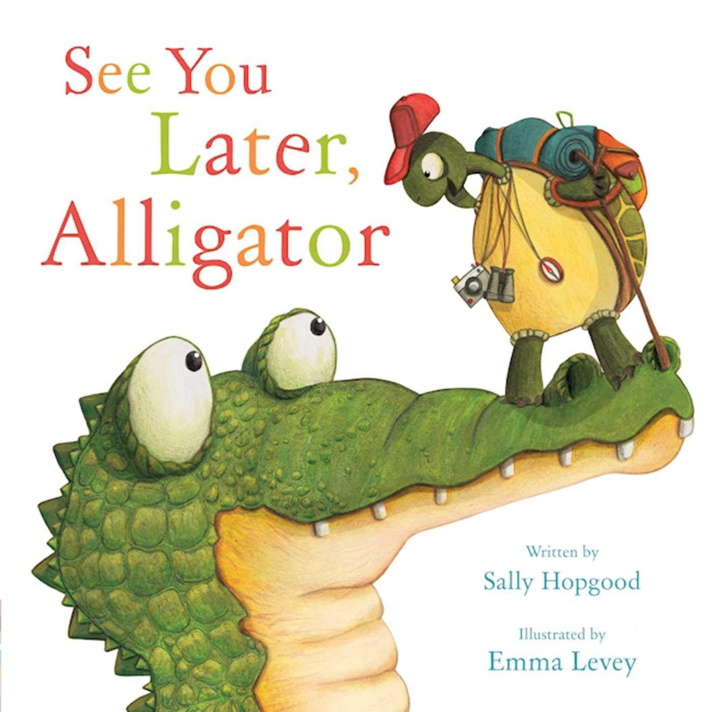 See Later Alligator Sally Hopgood product image