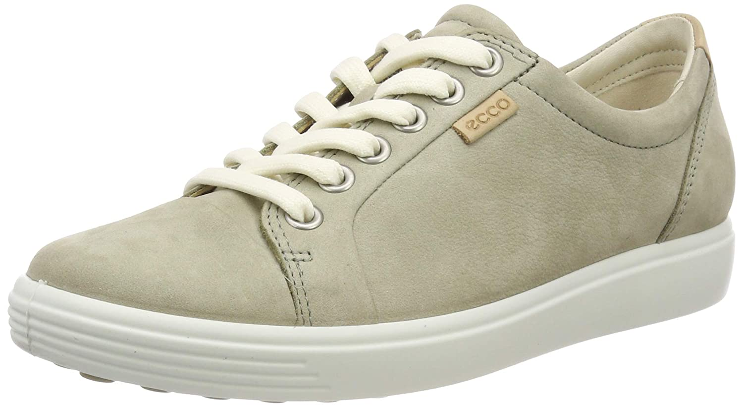 Sage ECCO shoes Women's Soft 7 Lace Fashion Sneakers