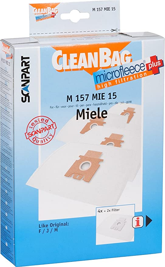 Menz /& K/önecke M 157 MIE 15 Bolsa de aspiradora