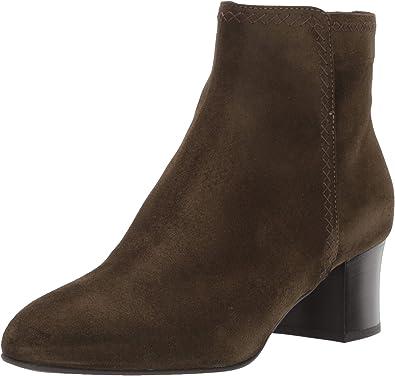 Aquatalia Womens Fiore Suede Ankle Boot