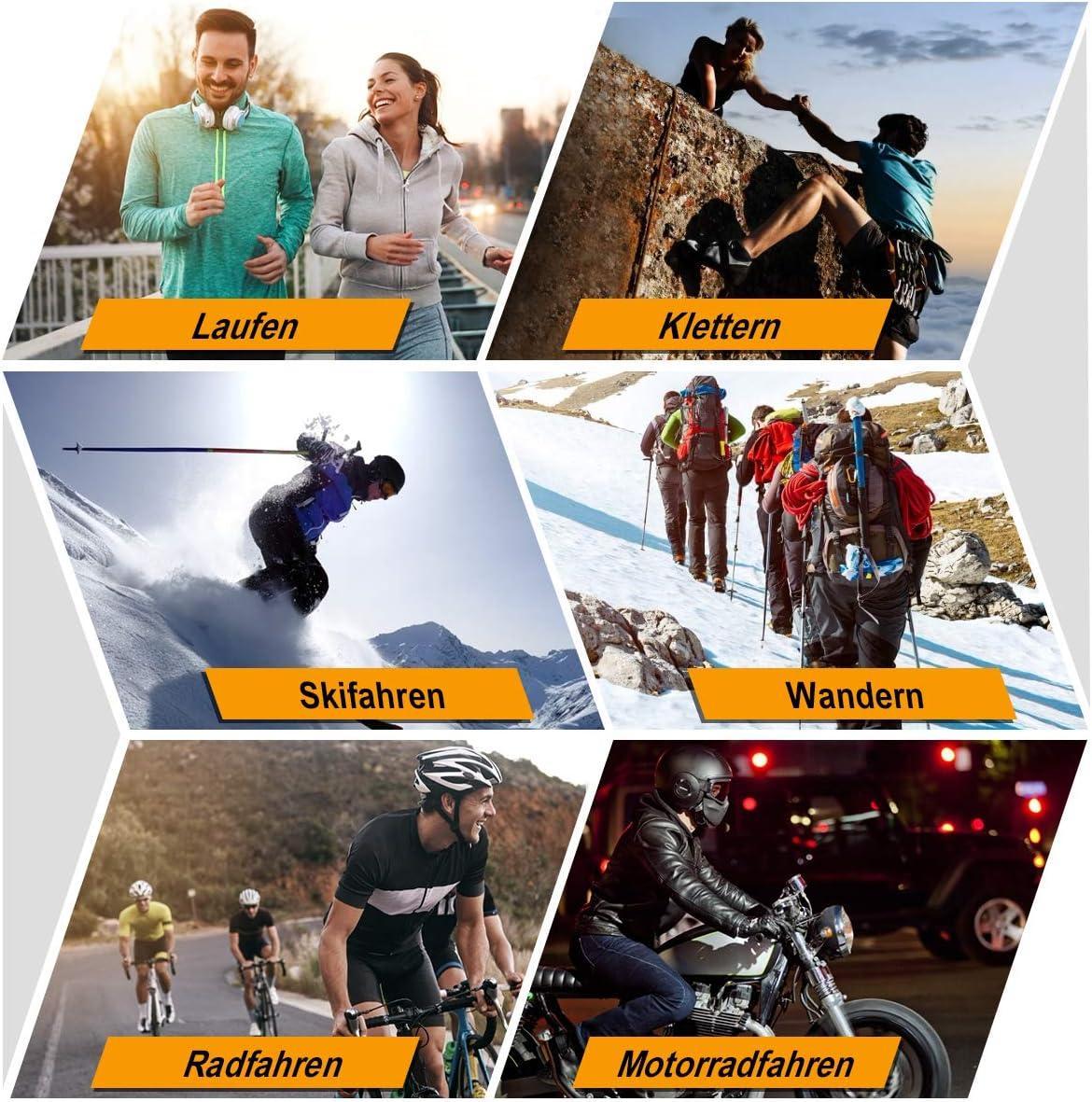 HASAGEI Cache Cou Tubulaire dhiver en Tissu Polaire Unisexe Tour De Cou Homme Moto Coupe Vent Et Multifonctionnelle /Écharpe De Cou De Ski Cyclisme Randonn/ée