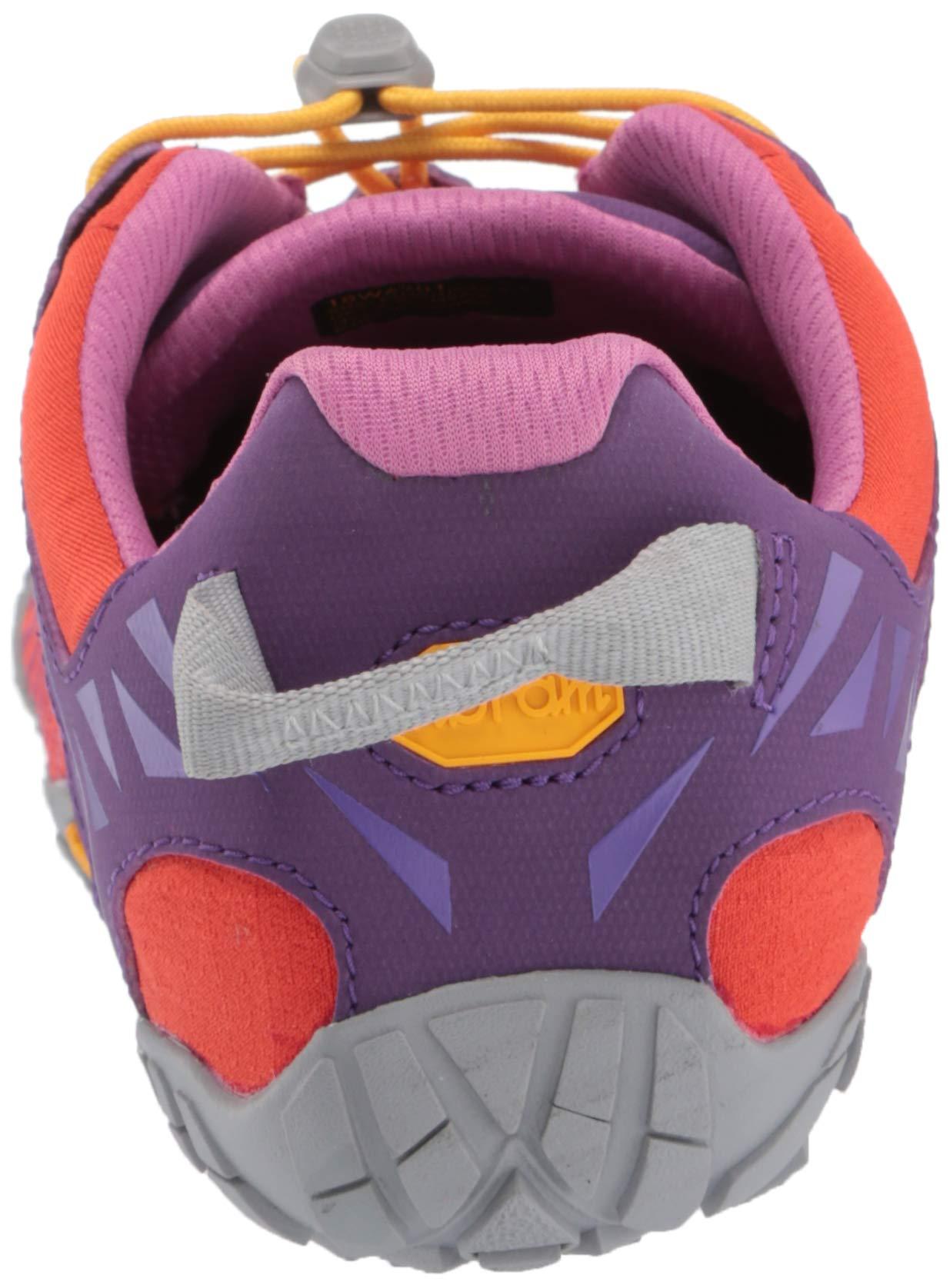 Vibram FiveFingers V-Trail, Women's Trail Running Shoes, Orange (Magenta/Orange), 6-6.5 UK (38 EU) by Vibram (Image #2)
