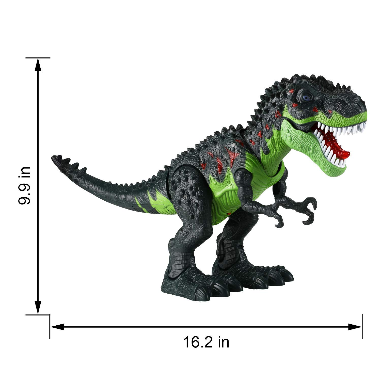 Tuko Dinosaur Toys Jurassic World Electronic Led Light Up Roaring Realistic Large T-Rex Toys for 3-12 Year Old Toddler Boy Girl Gift by Tuko (Image #6)